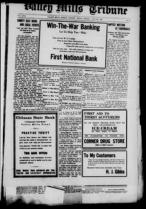 Valley Mills Tribune (Valley Mills, Tex.), Vol. 18, No. 27, Ed. 1 Friday, July 26, 1918