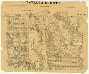Primary view of object titled 'Zavala County'.
