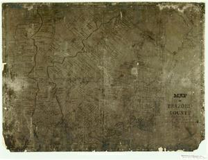 Primary view of object titled 'Map of Brazoria County'.