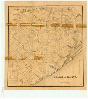 Primary view of object titled 'Brazoria County.'.