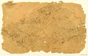Primary view of object titled 'Map of Burleson County'.