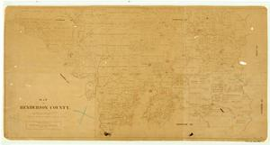 Primary view of object titled 'Map of Henderson County'.