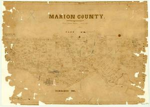 Primary view of object titled 'Marion County'.