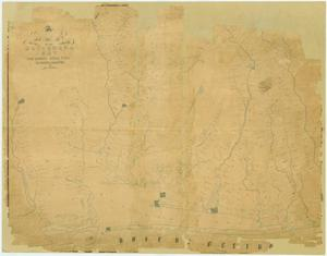 Primary view of object titled 'A Map of Matagorda Bay and County with the Adjacent Country'.