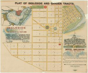 Primary view of object titled 'Plat of Ingleside and Garden Tracts'.