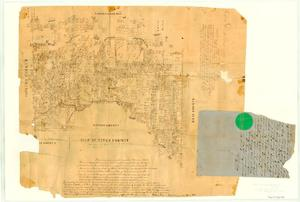 Primary view of object titled 'Map of Titus County'.