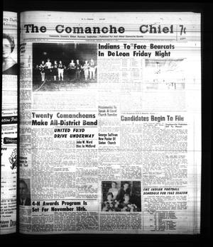 Primary view of object titled 'The Comanche Chief (Comanche, Tex.), Vol. 88, No. 20, Ed. 1 Friday, November 10, 1961'.