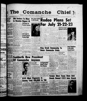 Primary view of object titled 'The Comanche Chief (Comanche, Tex.), Vol. 88, No. 2, Ed. 1 Friday, July 8, 1960'.
