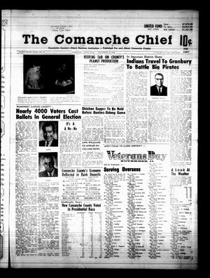 Primary view of object titled 'The Comanche Chief (Comanche, Tex.), Vol. 96, No. 21, Ed. 1 Friday, November 8, 1968'.