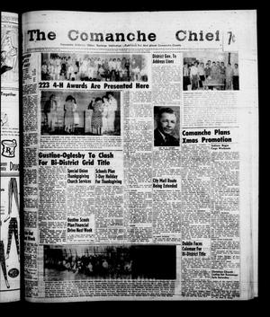 Primary view of object titled 'The Comanche Chief (Comanche, Tex.), Vol. 87, No. 21, Ed. 1 Friday, November 18, 1960'.