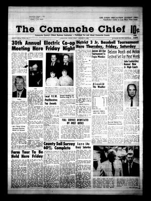 Primary view of object titled 'The Comanche Chief (Comanche, Tex.), Vol. 96, No. 7, Ed. 1 Friday, August 2, 1968'.