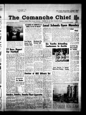 Primary view of object titled 'The Comanche Chief (Comanche, Tex.), Vol. 96, No. 10, Ed. 1 Friday, August 23, 1968'.