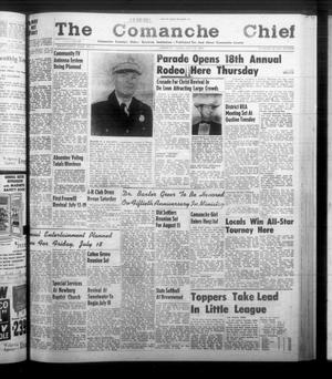 Primary view of object titled 'The Comanche Chief (Comanche, Tex.), Vol. 86, No. 2, Ed. 1 Friday, July 11, 1958'.