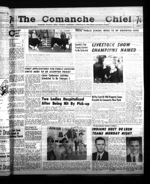 Primary view of object titled 'The Comanche Chief (Comanche, Tex.), Vol. 87, No. 31, Ed. 1 Friday, January 27, 1961'.