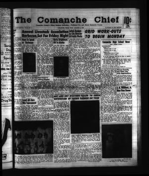 Primary view of object titled 'The Comanche Chief (Comanche, Tex.), Vol. 92, No. 8, Ed. 1 Friday, August 14, 1964'.