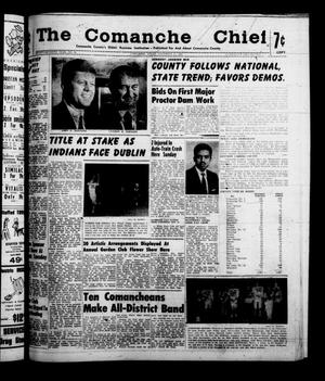 Primary view of object titled 'The Comanche Chief (Comanche, Tex.), Vol. 87, No. 20, Ed. 1 Friday, November 11, 1960'.