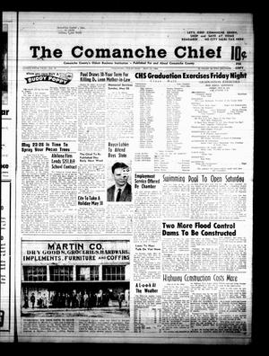 Primary view of object titled 'The Comanche Chief (Comanche, Tex.), Vol. 95, No. 49, Ed. 1 Friday, May 24, 1968'.