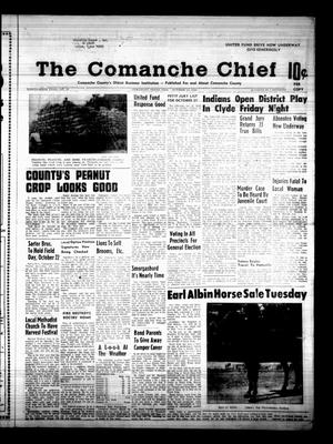 Primary view of object titled 'The Comanche Chief (Comanche, Tex.), Vol. 96, No. 18, Ed. 1 Friday, October 18, 1968'.