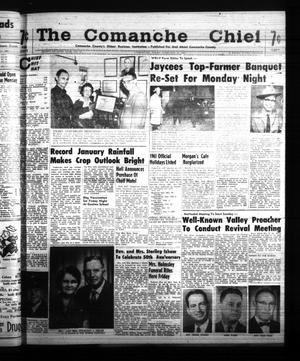Primary view of object titled 'The Comanche Chief (Comanche, Tex.), Vol. 87, No. 33, Ed. 1 Friday, February 10, 1961'.