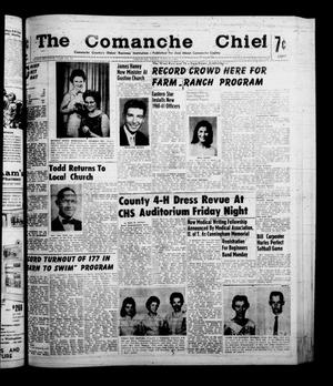 Primary view of object titled 'The Comanche Chief (Comanche, Tex.), Vol. 87, No. 51, Ed. 1 Friday, June 17, 1960'.