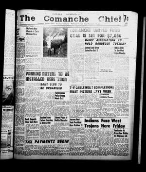 Primary view of object titled 'The Comanche Chief (Comanche, Tex.), Vol. 86, No. 14, Ed. 1 Friday, October 3, 1958'.