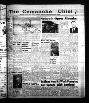 Primary view of object titled 'The Comanche Chief (Comanche, Tex.), Vol. 88, No. 9, Ed. 1 Friday, August 25, 1961'.