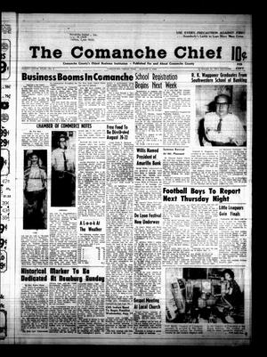 Primary view of object titled 'The Comanche Chief (Comanche, Tex.), Vol. 96, No. 8, Ed. 1 Friday, August 9, 1968'.