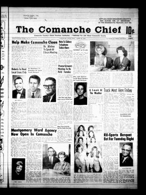 Primary view of object titled 'The Comanche Chief (Comanche, Tex.), Vol. 95, No. 45, Ed. 1 Friday, April 26, 1968'.
