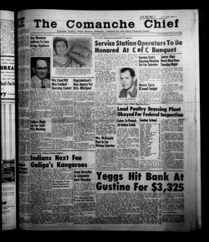 Primary view of object titled 'The Comanche Chief (Comanche, Tex.), Vol. 85, No. 13, Ed. 1 Friday, September 27, 1957'.
