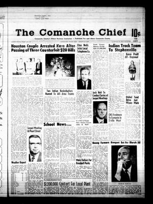 Primary view of object titled 'The Comanche Chief (Comanche, Tex.), Vol. 95, No. 39, Ed. 1 Friday, March 15, 1968'.