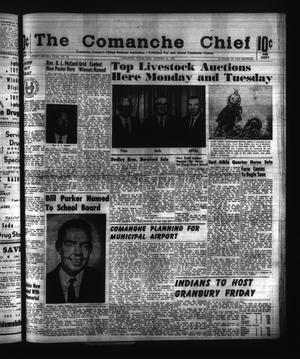 Primary view of object titled 'The Comanche Chief (Comanche, Tex.), Vol. 92, No. 18, Ed. 1 Friday, October 23, 1964'.