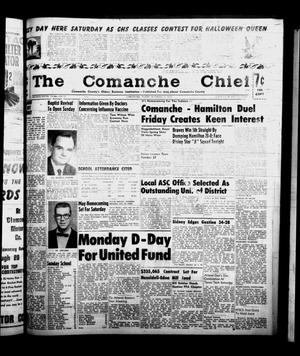 Primary view of object titled 'The Comanche Chief (Comanche, Tex.), Vol. 86, No. 17, Ed. 1 Friday, October 24, 1958'.