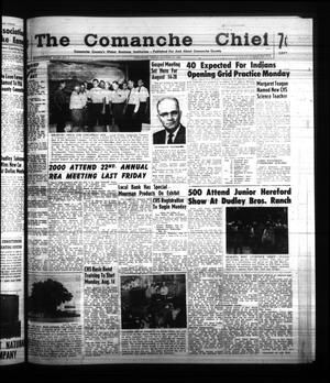 Primary view of object titled 'The Comanche Chief (Comanche, Tex.), Vol. 88, No. 7, Ed. 1 Friday, August 11, 1961'.