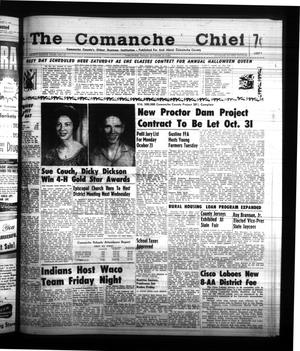 Primary view of object titled 'The Comanche Chief (Comanche, Tex.), Vol. 88, No. 17, Ed. 1 Friday, October 20, 1961'.