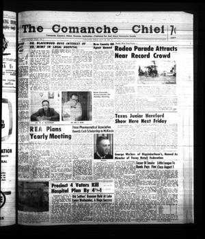 Primary view of object titled 'The Comanche Chief (Comanche, Tex.), Vol. 88, No. 5, Ed. 1 Friday, July 28, 1961'.