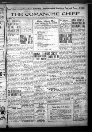 Primary view of The Comanche Chief (Comanche, Tex.), Vol. 52, No. 30, Ed. 1 Friday, March 20, 1925