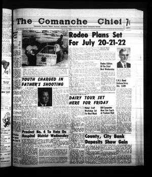 Primary view of object titled 'The Comanche Chief (Comanche, Tex.), Vol. 88, No. 3, Ed. 1 Friday, July 14, 1961'.