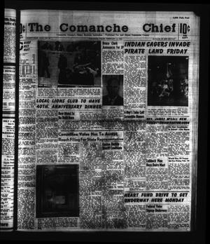 Primary view of object titled 'The Comanche Chief (Comanche, Tex.), Vol. 91, No. 34, Ed. 1 Friday, February 14, 1964'.