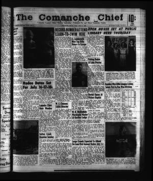 Primary view of object titled 'The Comanche Chief (Comanche, Tex.), Vol. 92, No. 2, Ed. 1 Friday, July 3, 1964'.