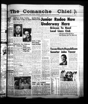 Primary view of object titled 'The Comanche Chief (Comanche, Tex.), Vol. 87, No. 49, Ed. 1 Friday, June 2, 1961'.