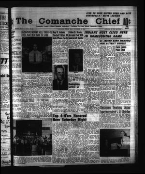 Primary view of object titled 'The Comanche Chief (Comanche, Tex.), Vol. 92, No. 21, Ed. 1 Friday, November 13, 1964'.