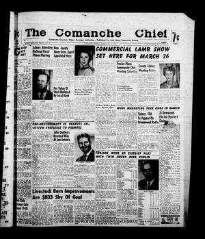 Primary view of object titled 'The Comanche Chief (Comanche, Tex.), Vol. 87, No. 34, Ed. 1 Friday, February 19, 1960'.