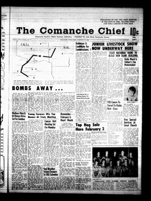 Primary view of object titled 'The Comanche Chief (Comanche, Tex.), Vol. 95, No. 31, Ed. 1 Friday, January 19, 1968'.
