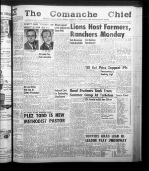 Primary view of object titled 'The Comanche Chief (Comanche, Tex.), Vol. 85, No. 50, Ed. 1 Friday, June 13, 1958'.