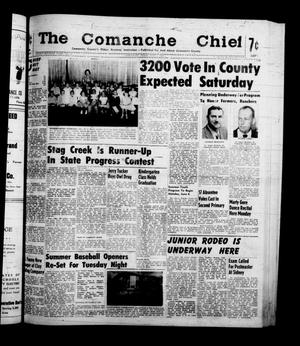 Primary view of object titled 'The Comanche Chief (Comanche, Tex.), Vol. 87, No. 49, Ed. 1 Friday, June 3, 1960'.