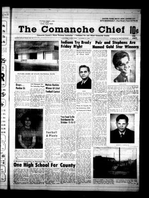 Primary view of object titled 'The Comanche Chief (Comanche, Tex.), Vol. 96, No. 17, Ed. 1 Friday, October 11, 1968'.