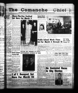 Primary view of The Comanche Chief (Comanche, Tex.), Vol. 87, No. 35, Ed. 1 Friday, February 24, 1961