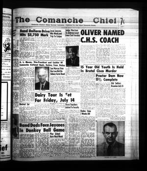 Primary view of object titled 'The Comanche Chief (Comanche, Tex.), Vol. 88, No. 2, Ed. 1 Friday, July 7, 1961'.