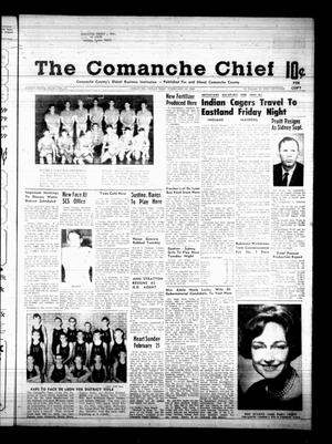 Primary view of object titled 'The Comanche Chief (Comanche, Tex.), Vol. 95, No. 35, Ed. 1 Friday, February 16, 1968'.