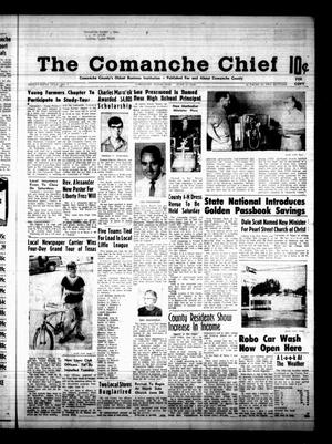 Primary view of object titled 'The Comanche Chief (Comanche, Tex.), Vol. 96, No. 1, Ed. 1 Friday, June 21, 1968'.